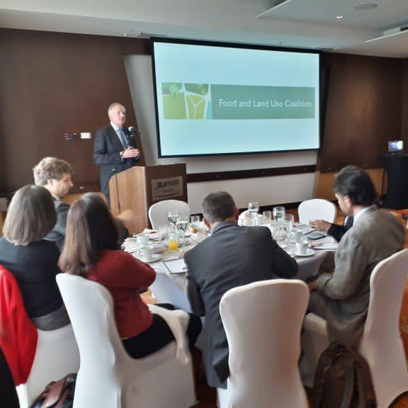 Coalición para una Nueva Economía del Clima, la Alimentación y el Uso de la Tierra en Colombia – Desayuno con Paul Polman (CEO Unilever)