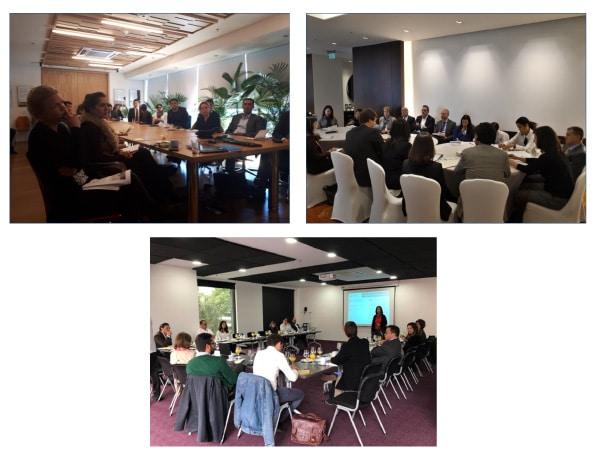 Diálogos con actores publico-privados y sociedad civil
